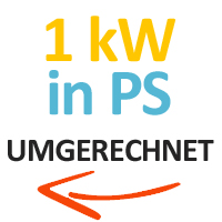 1kw-in-ps-umgerechnet